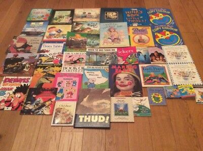 Wholesale Joblot Of 39 Childrens Hard And Soft Back Books Brand New
