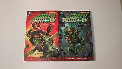Green Arrow New 52 volume 1 and 2