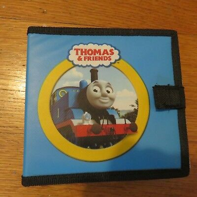 9 Thomas and Friends DVD with carry case no DVD cases LOT #6