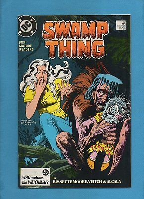 Swamp Thing #59 DC Comics April 1987 Alan Moore Rick Veitch Alfredo Alcala
