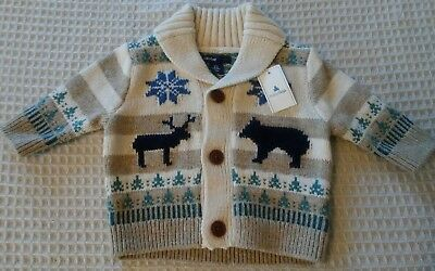 Baby Gap baby Boy 0-3 months Knit sweater Holiday