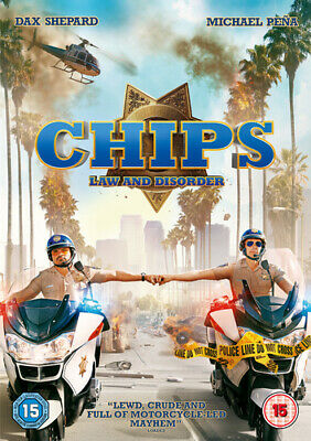 CHiPs DVD (2017) Dax Shepard cert 15 Highly Rated eBay Seller, Great Prices