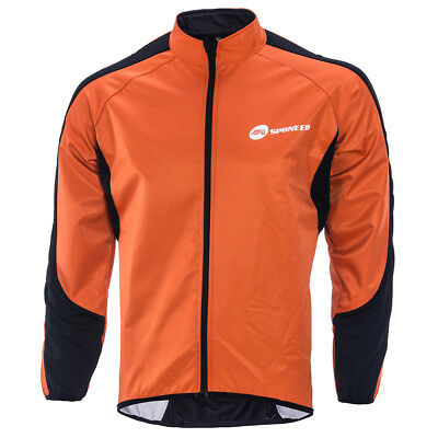 Road Cycling Fleece Jerseys Men's Winter Warm Biking Jacket Race Fit Long Sleeve