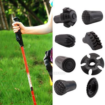 Outdoor Trekking Pole Alpenstock Adjustable Walking Stick Hiking Accessory Hot