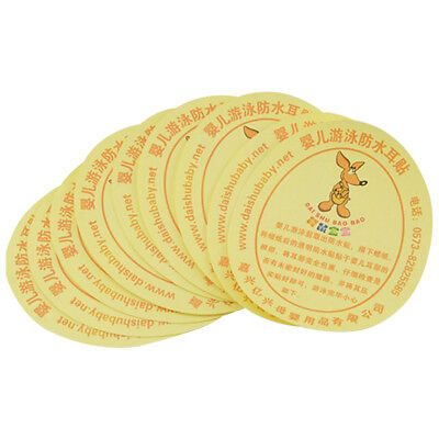 DAISHUBAOBAO baby swimming waterproof baby care ear stickers 10Pcs D1L5