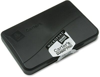 Carter's Micropore Stamp Pad, 4 1/4 X 2 3/4, Black