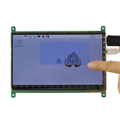 7 inch 800x480 Capacitive touch screen LCD Display HDMI For Raspberry Pi 3 B 2B