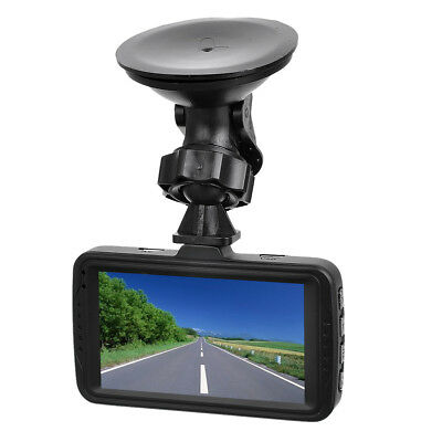 ABS + metal 170 Degree Wide Angle 1080P Full HD Car DVR w/Two Cameras Black