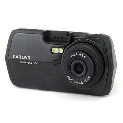 Anti-Shake Black ABS K3000 Ultra Wide-Angle HD 1080P Car DVR w/Night Vision