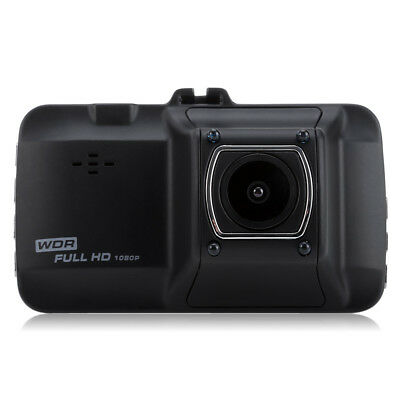 Zinc alloy High Speed 1080P Car DVR Recorder with 4-LED Night Vision Black