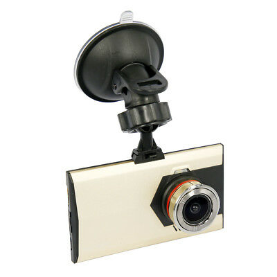 "Gold + Black H08 3.0""LCD 12.0MP 1080P HD Car DVR Car Camera w/1024MB Memory"