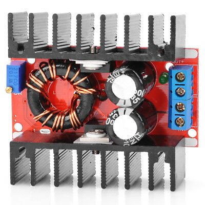 1PCS NEW 150W DC-DC 10-32V to 12-35V 6A Adjustable Step Up Power Supply Module