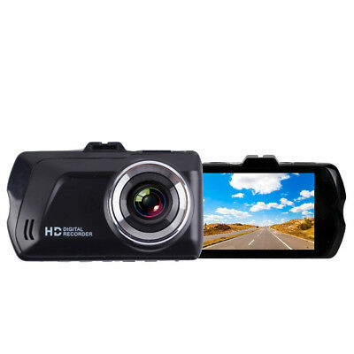 Zinc alloy + ABS 3.0 inches TFT 1080P 120?Wide-Angle LED Car DVR Black