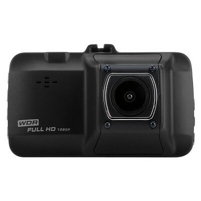 Zinc alloy + ABS 1080P Full HD 12MP 170?Wide Angle Car DVR Recorder Camera Black