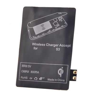 Qi Wireless Receiver Charging Power Charger for Samsung Galaxy S3 i9300