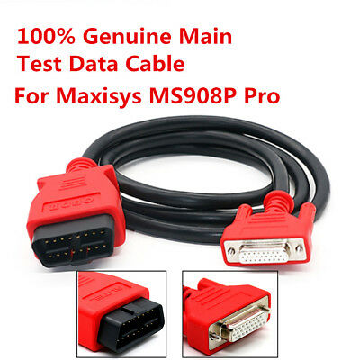 100% Genuine Main Test Data Cable for Maxisys MS908P Pro Scanner Diagnostic Tool