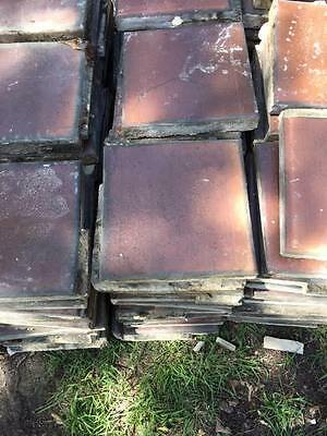 Price - dropped Terracotta Paving Tiles, approximately 500, 230mm x 230mm x 35mm