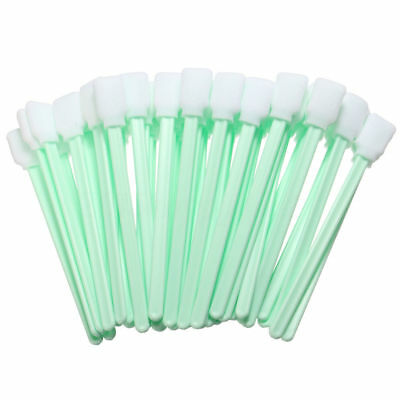 50Pcs Sponge Head Cleaning Cleaner Swab Camera Lenses Inkjet Printer Swabs R1D4