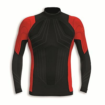 Ducati 98104003 Function Shirt Racing Undershirt Long Sleeve Warm Up Seamless