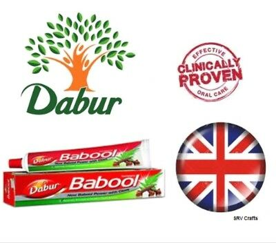 Dabur Babool Toothpaste Healthy Gums Fight Germs Ayurvedic Vegetarain Halal