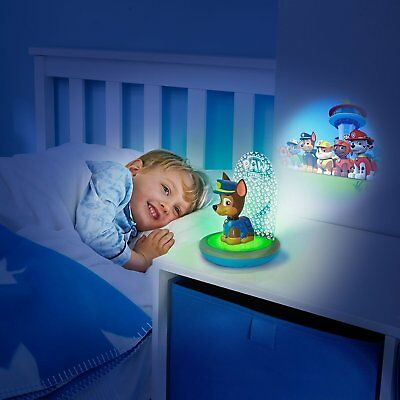 Paw Patrol Chase GoGlow Magic Night Light, Torch and Projector Battery