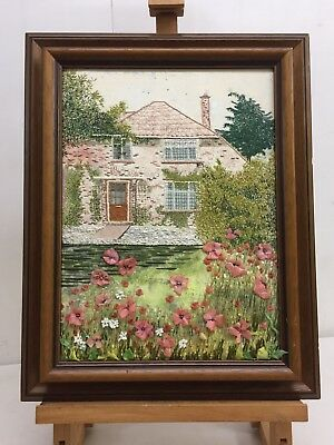Unique Floral Art - Sheila Thacker - Number 58, Yorkshire Country Cottage