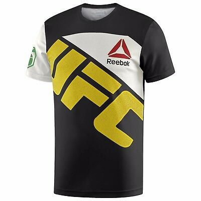 New Men's REEBOK UFC Official Fighter Jersey Shirt - ANDERSON SILVA - AH7924