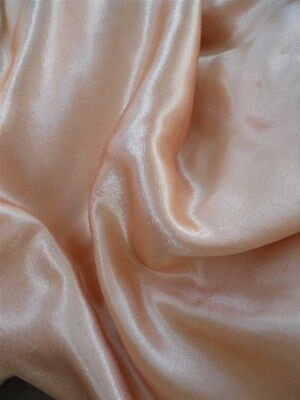 French antique fabric salmon  silk melange metallic threads.1920 time.