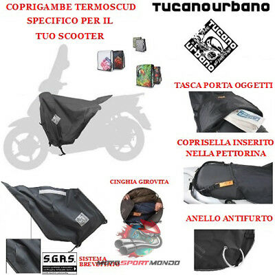 Kymco People S 200 2006 06 Termoscud Tucano Urbano Specifico R066 Coprigambe Imp