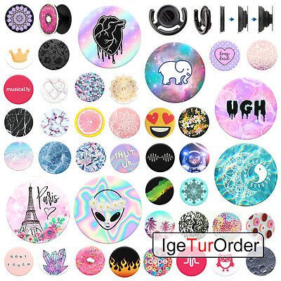 PopSocket Pop Sockets Grip Stand Phones Tablet Holder for iPhone Samsung UK Sell