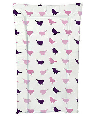 Brand new Kit for kids changing mat in little birdie in pink & lilac
