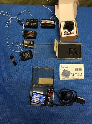 Lot Of Working Drone Parts. Gyro, Receivers, Cameras, Walkera, Guyana, Piezo, &