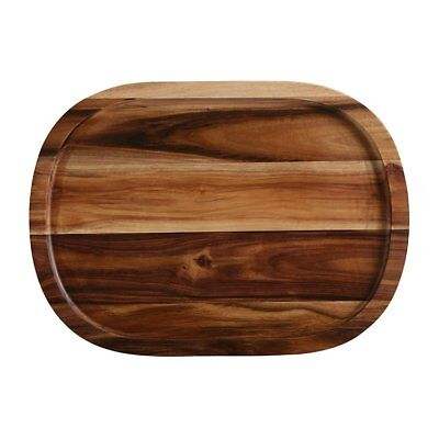 NEW Maxwell & Williams Artisan Acacia Oblong Serving Tray 45x33cm (RRP $70)
