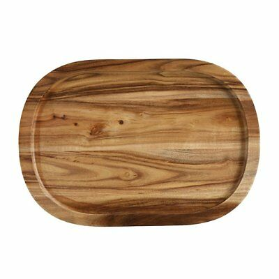 NEW Maxwell & Williams Artisan Acacia Oblong Serving Tray 40x28cm (RRP $60)