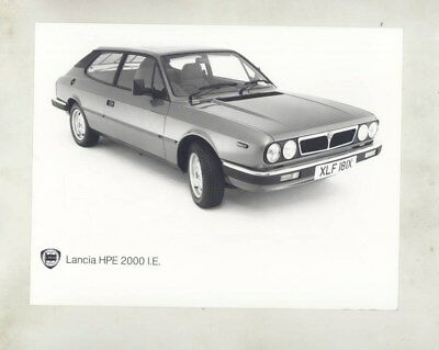 1983 Lancia HPE 2000IE ORIGINAL Factory Photograph wy4904