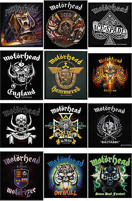 Motorhead Patch England Warpig band logo Lemmy Overkill official New woven