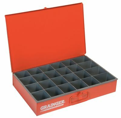 """Compartment Box, 12"""" Drawer Depth, 18"""" Drawer Width, Compartments per Drawer 24"""