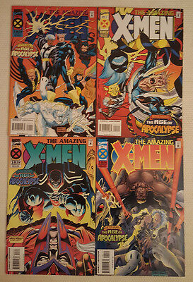 Marvel Comics Amazing X-Men (Age of Apocalypse) #1-4 VF/NM