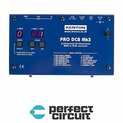 Kenton Pro DCB MK3 MIDI to DCB Converter 14 PIN - NEW - PERFECT CIRCUIT