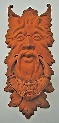 Door Knocker Cast Iron Steampunk Goth Vintage Victorian Gargoyle Doorknocker