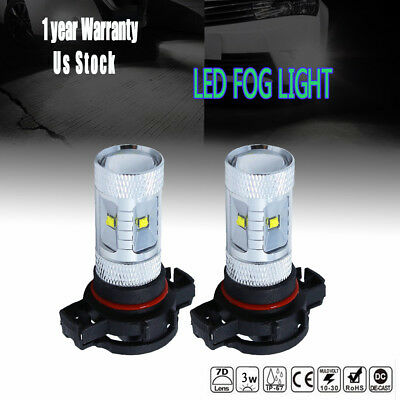 Fits Polaris Sportsman/Ranger 30W LEDs Super White Headlights Bulbs Lamps 2 Pack