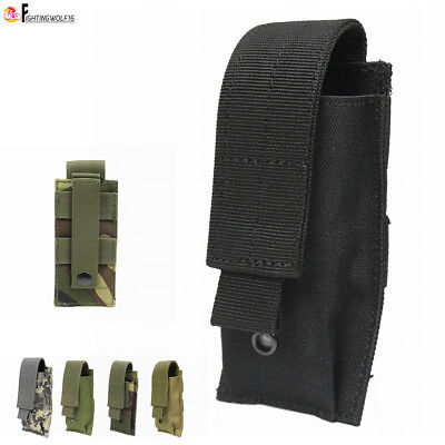 Tactical Molle Phone Pouch Vest Accessory Storage Bag Army Pocket Portable Case