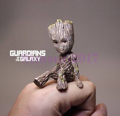 "US Ship Cute 2"" Guardians of The Galaxy Vol. 2 Baby Groot Figure Toy Xmas Gift"