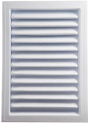 Plastic Wall Louver Static Vent White Flushed Recessed Intake Exhaust Venting