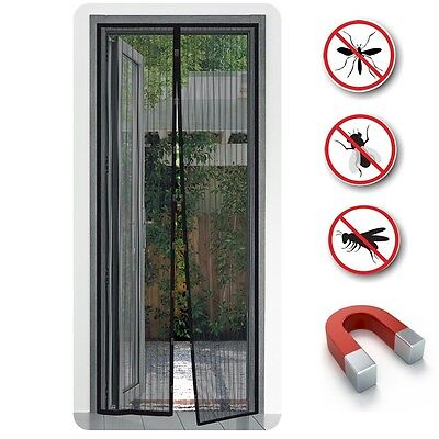 2032 1 x Insect protection Magnet Fly screen Mosquito repellent Curtain Caravan