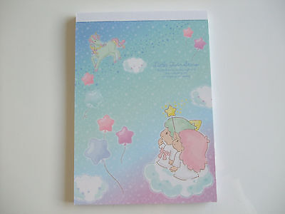 New!! Sanrio Little Twin Stars Kawaii Memo Pad Notepad/Type B