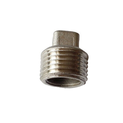 "1/2"" Male BSP Square Head Plug Stainless Steel 304 Pipe Fitting"