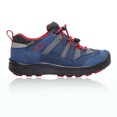 Keen Unisex Hikesport Junior Red Blue Waterproof Camping Hiking Shoes Boots