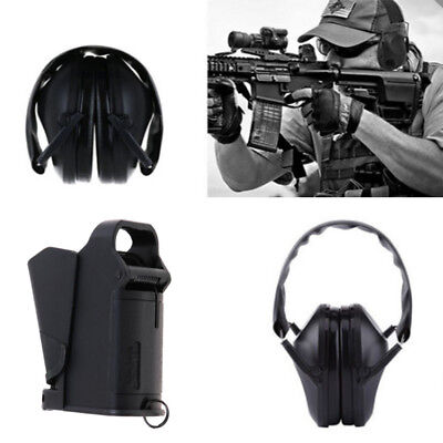 Noise Canceling Ear Muffs Protection for Shooting +Pistol Magazine Speed Loader