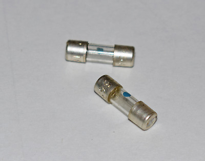 Fuse Link Size 00 Glass 1.5A 5/8 Inch By 3/16 Inch - 2 Pieces